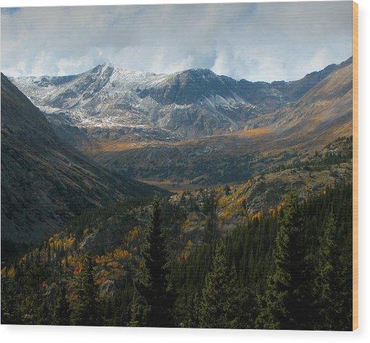 Colorado Glory Wood Print