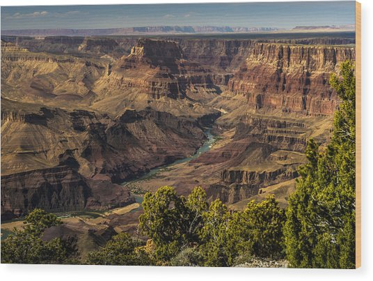Colorado River Wood Print