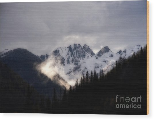 Colorado Rocky Mountains From Highway 550 Wood Print