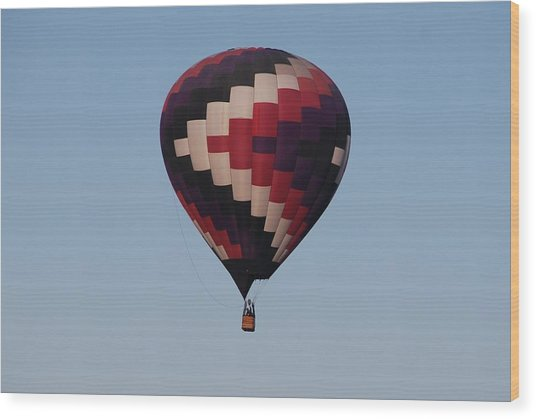 Colorful Balloon  Wood Print by Miguelito B
