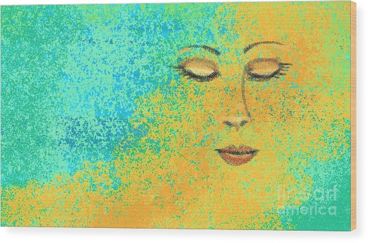 Colorful Dreams Wood Print by Hilda Lechuga