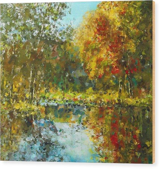 Colorful Dreams Wood Print