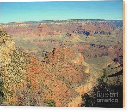 Colorful Grand Canyon Wood Print by John Potts