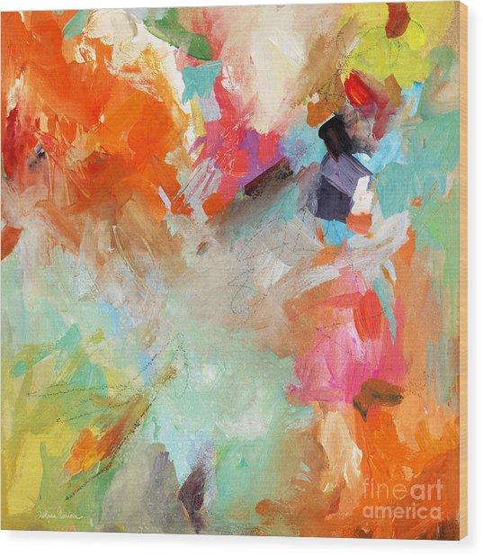 Colorful Joy Wood Print