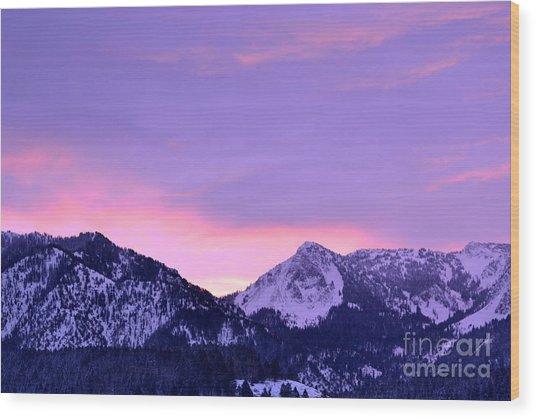 Colorful Sunrise No. 1 Wood Print