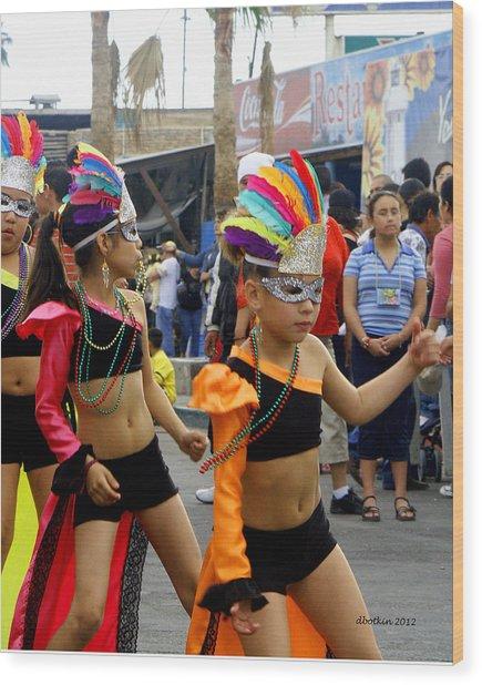 Colors Of Carnival Wood Print