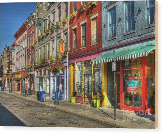 Colors Of Cincinnati Wood Print