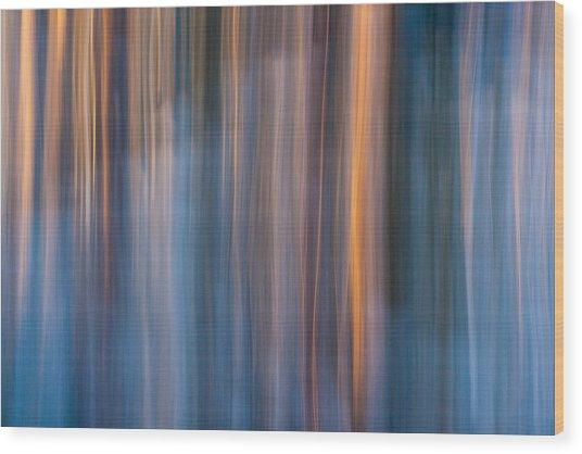 Colors Of Dusk Wood Print