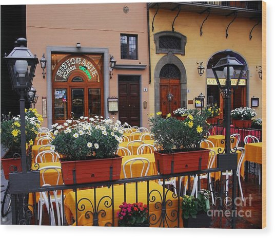 Colors Of Italy Wood Print