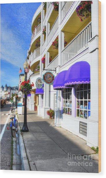 Colors Of Mackinac Island Wood Print