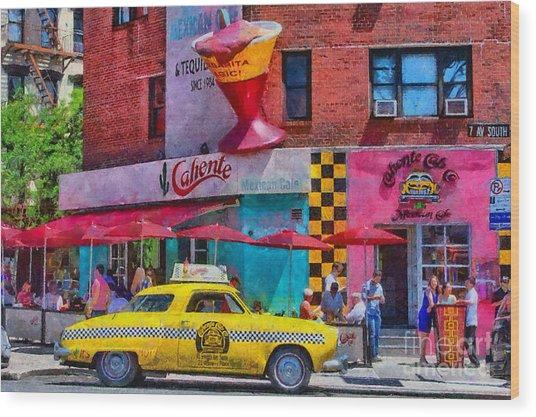 Colors Of New York Wood Print