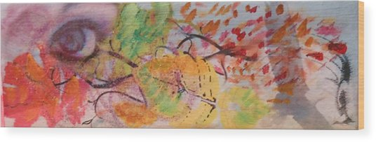 Colors Of The Winds Wood Print