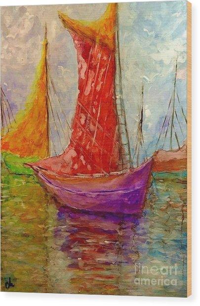 Colors Symphony.. Wood Print