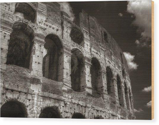 Colosseum Wall Wood Print