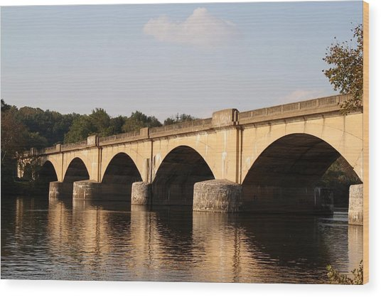 Columbia Bridge Wood Print
