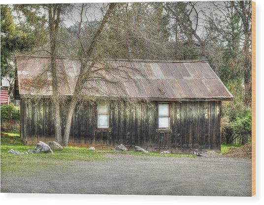 Columbia Cottage Wood Print