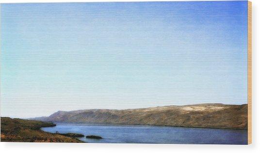 Columbia River Vista Wood Print