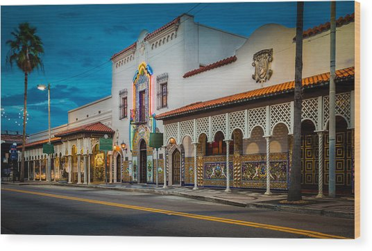 Columbia Wood Print by Ybor Photography