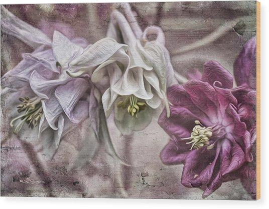 Columbine Beauty Wood Print