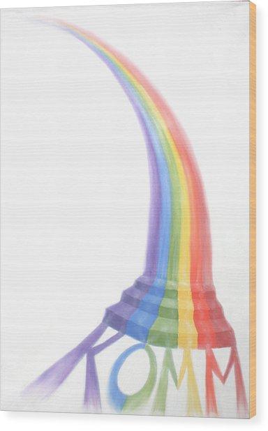 Come Wood Print by Sandra Yegiazaryan