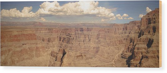 Coming Out Of The Canyon Wood Print by BandC  Photography