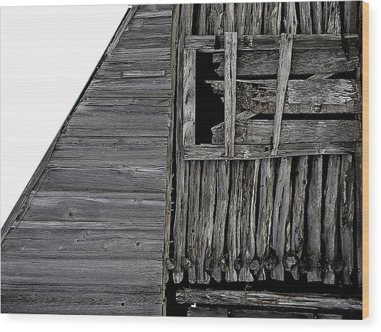Commons Ford Barn Wood Print