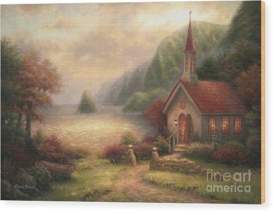 Compassion Chapel Wood Print