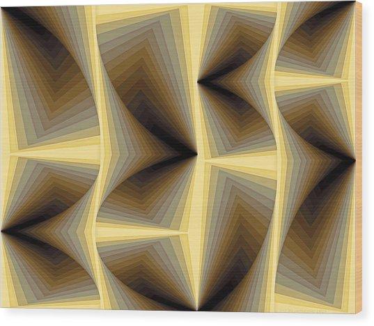 Composition 252 Wood Print