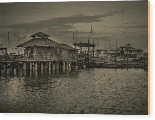 Conch House Marina Wood Print