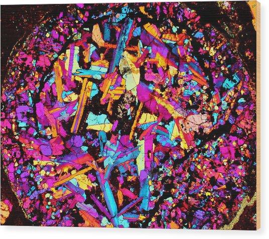 Confetti Canon Ball Wood Print