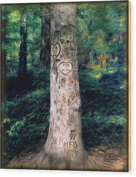 Congressional Woods Wood Print