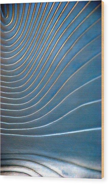 Contours 1 Wood Print