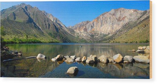 Convict Lake Panorama Wood Print