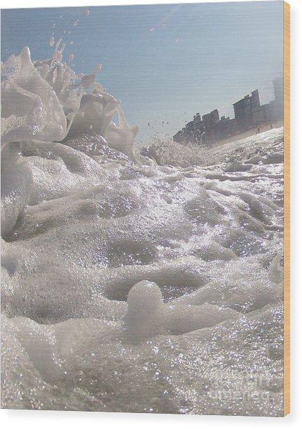 Cool Foam Wood Print