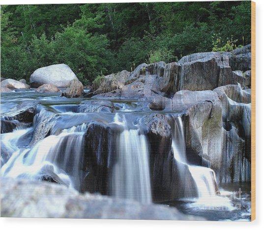 Coos Canyon Maine Wood Print