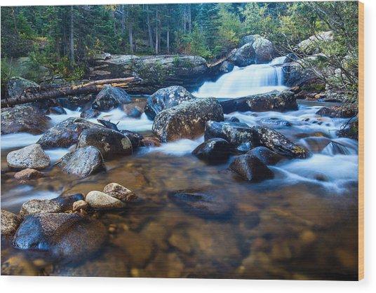 Copeland Falls 3 Wood Print