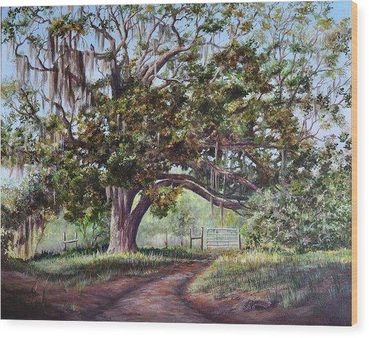 Cop's Tree Wood Print