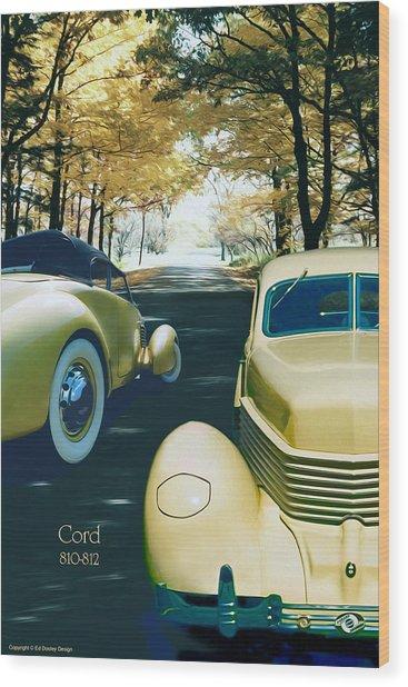 Cord 810-812  Wood Print