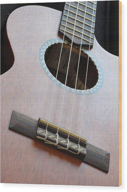 Cordoba Ukulele Wood Print