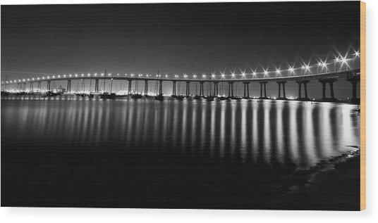 Coronado Bay Bridge Wood Print