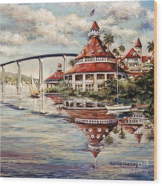 Coronado Centennial Wood Print