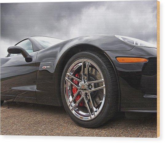 Corvette Z06 Wood Print