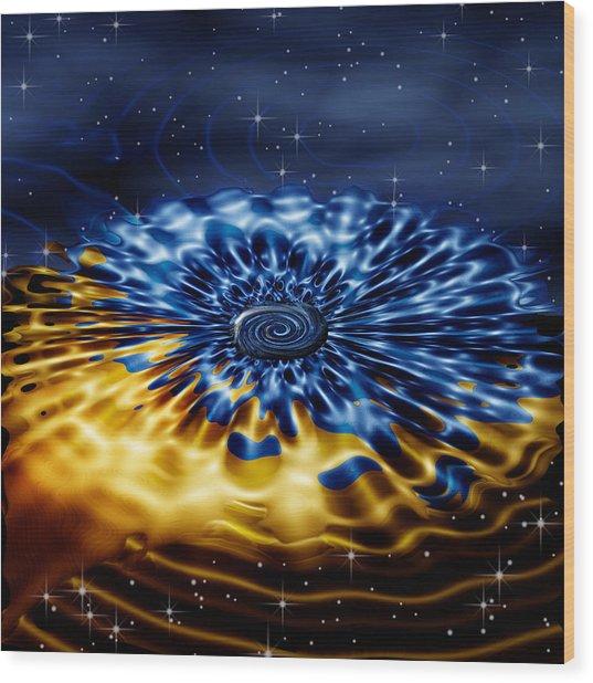 Cosmic Confection Wood Print