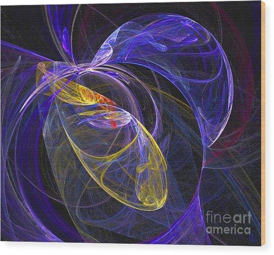 Cosmic Web 1 Wood Print