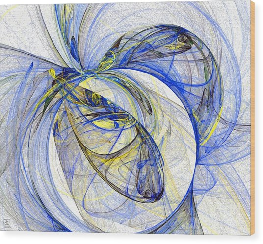 Cosmic Web 5 Wood Print