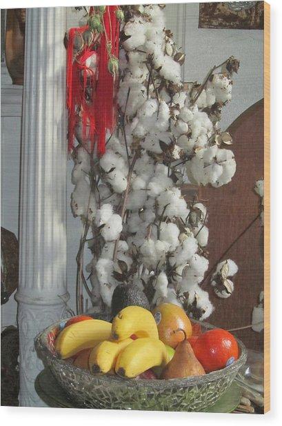 Cotton Wood Print by Stephanie Francis