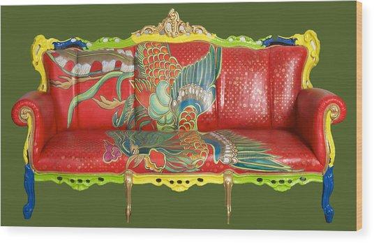 Couch Phoenix Wood Print