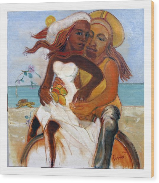 Could You Be Loved? Wood Print by Kippax Williams