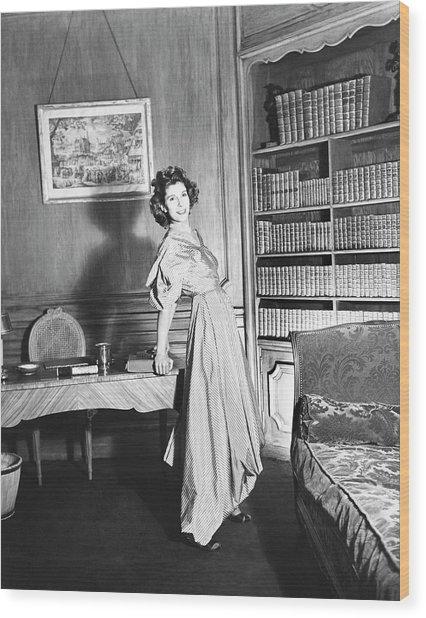 Countess Charles Emmanuel De La Rochefoucauld Wood Print