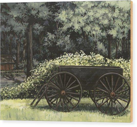 Country Wagon Wood Print
